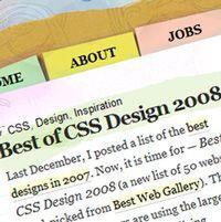 海外Webデザイン、2008年の潮流
