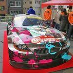 本気の痛車が2009年もSUPER GTに殴り込み!