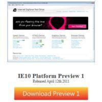 次期IE「Internet Explorer 10」プレビュー版が公開