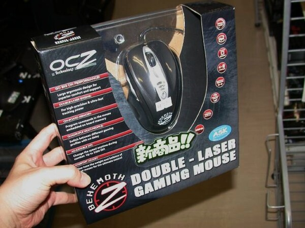「OCZ Behemoth Laser Gaming Mouse」