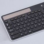 電池切れとおさらばできるワイヤレスキーボード K750