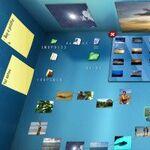 デスクトップを3D空間にする「BumpTop」