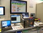 省電力もLSNも!アラクサラブースは最新技術の実験場