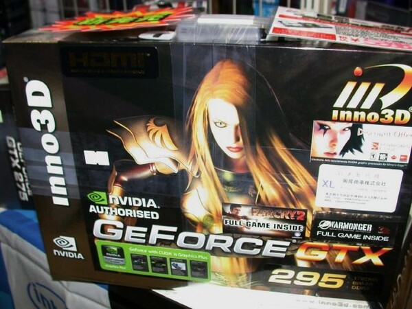 「GeForce GTX295 Platinum 1792MB GDDR3 PCI-E」