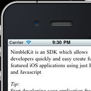 NimbleKitをインストールしてJSでiPhoneアプリ開発