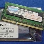 メモリーを8GBに増設 MacBook Proをサクサク動かす