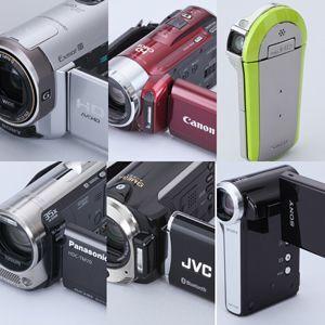 どれがいい? 春の最新HDビデオカメラ徹底比較!