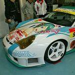 SUPER GT開幕直前! ついにポルシェが痛車化!