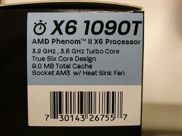 「Phenom II X6 1090T Black Edition」