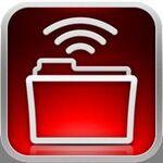 Wi-Fiなしの喫茶店でもOK、iPhone経由でファイル送信