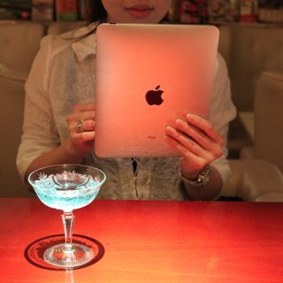 iPadを飲食店のデジタルサイネージとして活用