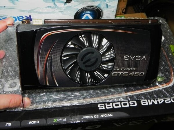 「GeForce GTS 450」
