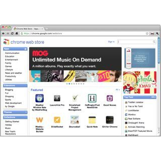 Googleのアプリストア「Chrome Web Store」で見えたもの