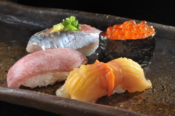 お寿司をグルーポンの広告風に撮るには?