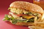 ハンバーガーをグルーポンの広告風に撮るには?