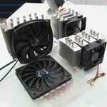 冷却機能に自信アリ! サイズ、新CPUクーラーを展示