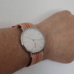 バンド交換が簡単なKnot腕時計の京都組み紐ストラップを衝動買い!