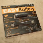 microUSBポート付きの単3充電池「EASYBattery」を衝動買い!