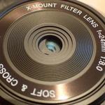 20mmボディーに3つのフィルターを内蔵した極薄レンズを衝動買い!
