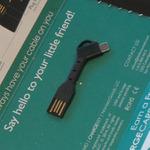 重さ3gのノマド向けUSB-microUSBケーブルを衝動買い!