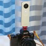 いろんな使い道を模索!? リコーの360度カメラ「THETA」を衝動買い!