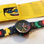 ファンキーなクロノグラフLEGO Watchを衝動買い