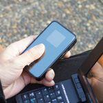 2つのSSIDが使えるWiMAXモバイルルーター「Wi-Fi WALKER」