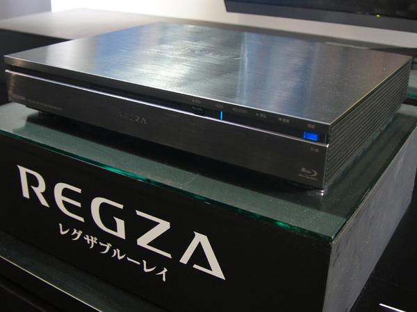 2011年に発売された全録レコーダー「REGZAサーバー」。6chの全録機能を持つBDレコだ