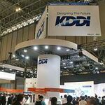 KDDIブースではそう遠くない未来の技術を展示