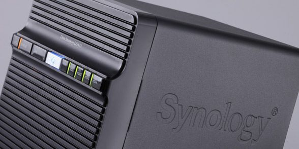 Synology DiskStation DS411の使用イメージ