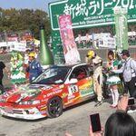 メロン号、全日本ラリーのクラスチャンピオンの栄冠に!