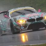 【予選超速報】大雨のSUPER GT九州戦! ミクZ4は11位に