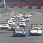 逆転劇連発のSUPER GT岡山戦 ミクZ4は3位表彰台!