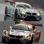ミクZ4以外、痛車総崩れ! SUPER GT 2012は波乱の幕開け