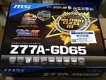 Intel 7シリーズチップセット搭載マザーが発売【MSI編】