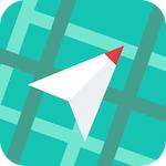 目的地までの距離と方角を示し続けるiPhoneアプリ「Waaaaay!」