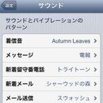 【iOS 6】相手によって電話とメールのバイブを変えられる!