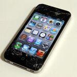 iPhoneを地面に落として画面を割ってしまったら?