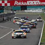 【決勝超速報】伝統の鈴鹿1000kmはMirai Z4が7位、ミクZ4はリタイヤに