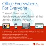 無償のiOS版やAndroid版Officeで、どう収益につなげるのか?