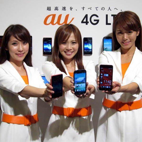 au冬モデルは4G LTE対応スマホ9製品 通信速度も速いぞ!