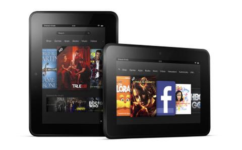 Amazonが超高解像度タブレット「Kindle Fire HD」を発表