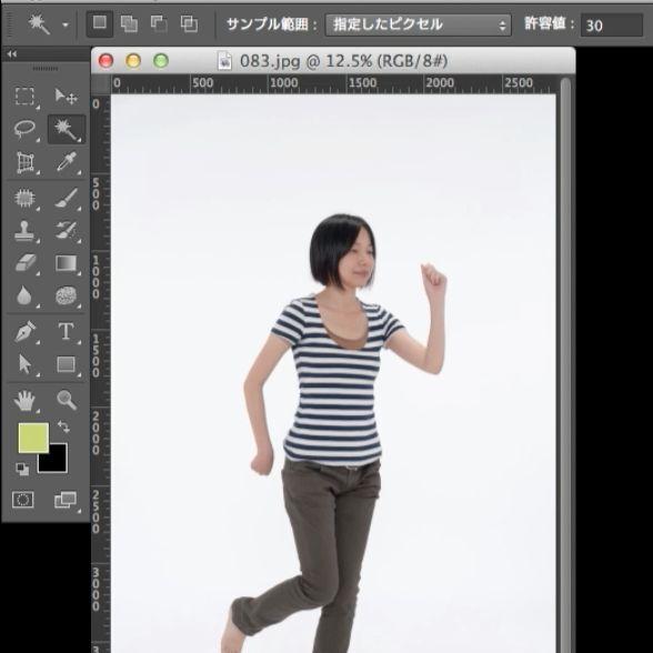 超簡単!人物のポーズを40秒で変えるPhotoshop便利機能