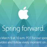 アップルのイベントの招待状に書かれた「Spring forward」の意味