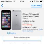 米国で在庫がまったくないiPhone 6 Plusの購入方法を模索