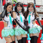 ただでさえ天使のミクさんがGT開幕岡山で2位獲得!