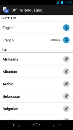 Google翻訳Android版アップデート。上手に使いこなすには