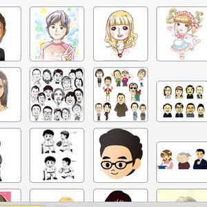 SNSの似顔絵アイコンをイラストレーターに発注できる「Draw Me!」