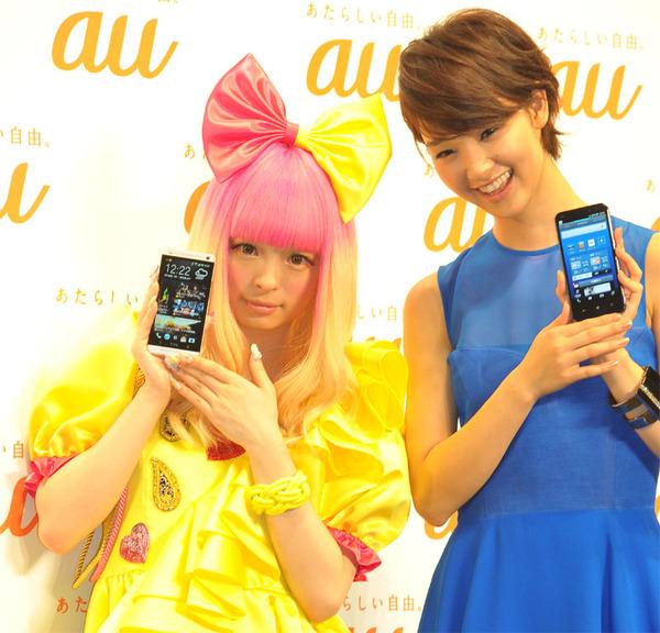 【au夏スマホ】HTC One J&Xperia ULの2台が魅力的!