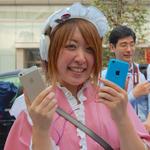銀座に700人が行列—「iPhone 5s」「iPhone 5c」発売!